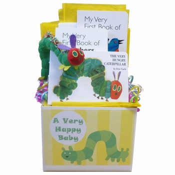 Very Hungry Caterpillar Baby Book Basket