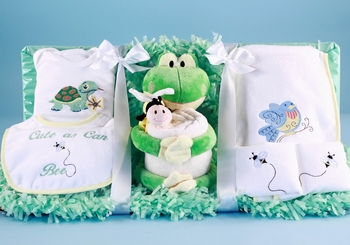 Welcome Baby My Froggy Basket