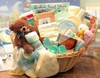 Yellow & Teal Deluxe Baby Essentials
