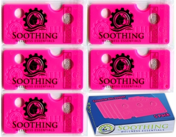 Soothing Wellness Essentials 5 Pack Essential Oils Opener Key Tool Set (FUCHSIA PINK)