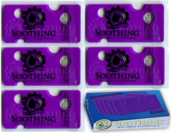 Soothing Wellness Essentials 5 PACK Essential Oils Opener Key Tool Set  (ORCHID PURPLE)