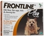 Frontline Plus, Dogs 0-22 lbs, ORANGE - 12 Tubes