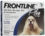 Frontline Plus For Dogs 23-44 lbs, Blue 12 Tubes