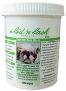I-Lid'N Lash Hygiene Vet Wipes, 60 Count