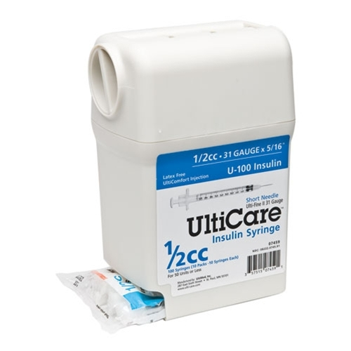UltiGuard UltiC... U 100 Insulin Syringes