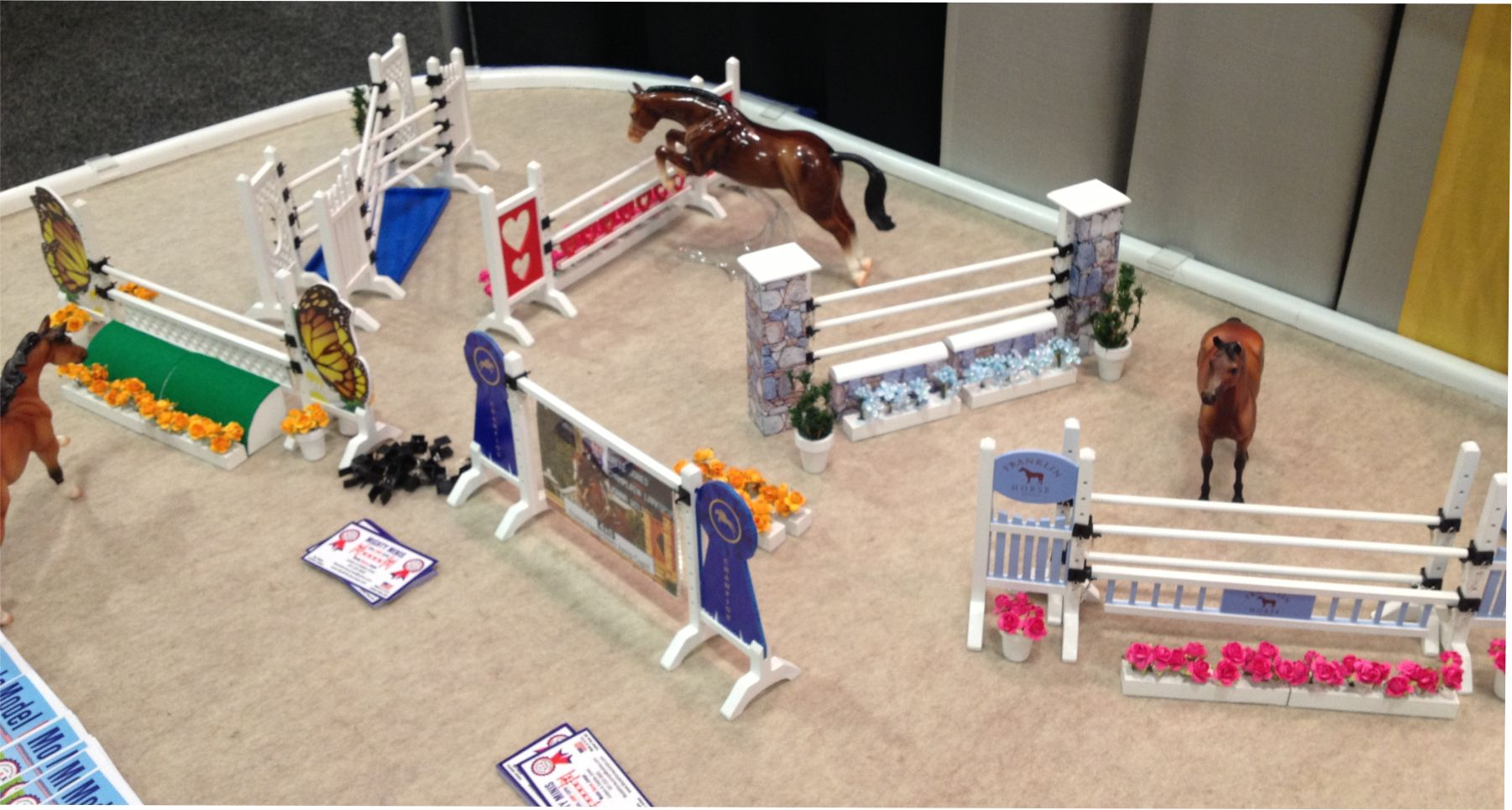 Model horse jump packages. Your Model horse will Love it!!!!