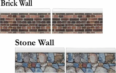 Walls comes In 2 sections