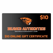 Oregon State Beavers $10 Gift Certificate