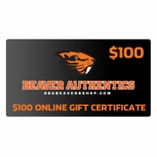 Oregon State Beavers $100 Gift Certificate