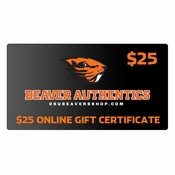 Oregon State Beavers $25 Gift Certificate