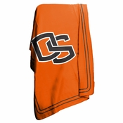 Oregon State Beavers 50x60 Fleece Stadium Blanket - Orange