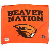 Oregon State Beavers 'Beaver Nation' Rally Towel - Orange