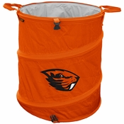 Oregon State Beavers Collapsable Trash Can - Orange