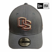 Oregon State Beavers New Era 39THIRTY&reg OS Pop Classic Flex Cap - Graphite