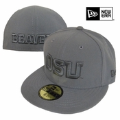 Oregon State Beavers New Era 59FIFTY&reg Storm Fitted Hat - Grey