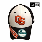 Oregon State Beavers New Era 9FORTY&reg Orlantic Adjustable Cap - Black/White