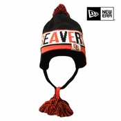 Oregon State Beavers New Era Crayon Box Knit Hat - Black