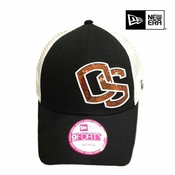 Oregon State Beavers New Era Women's 9FORTY&reg Sequin Shimmer Cap - Black