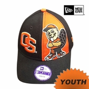 Oregon State Beavers New Era Youth 9FORTY&reg Big Mascot Cap - Black