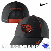 Oregon State Beavers Nike Dri-FIT Coaches Legacy 91 Adjustable Cap - Black