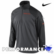 Oregon State Beavers Nike Dri-FIT Defender 1/2 Zip Pullover - Charcoal