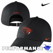 Oregon State Beavers Nike Dri-FIT Mascot Heritage 86 Adjustable Cap - Black