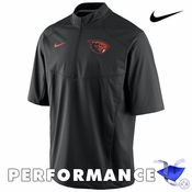 Oregon State Beavers Nike Dri-FIT Short Sleeve Hot Jacket - Black