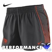 Oregon State Beavers Nike Dri-FIT Women's Stealth Pacer Shorts - Black