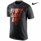 Oregon State Beavers Nike Local Campus Tee - Black