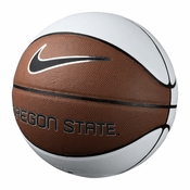 Oregon State Beavers Nike Official Size Autograph Basketball - White