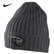 Oregon State Beavers Nike Seasonal Fan Knit Beanie - Grey