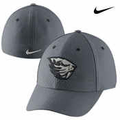 Oregon State Beavers Nike Superfan Swoosh Flex Cap - Grey