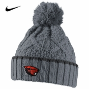 Oregon State Beavers Nike Women's Better Knit Beanie - Grey
