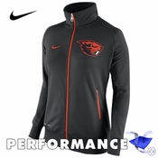 Oregon State Beavers Nike Dri-FIT Women's MVP Track Jacket - Black