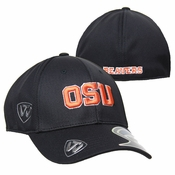 Oregon State Beavers OSU 1FIT Flex Hat - Black