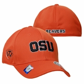 Oregon State Beavers OSU 1FIT Flex Hat - Orange