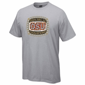 Oregon State Beavers Ouray 2014 PAC-12 Baseball Championship Ring Tee - Grey