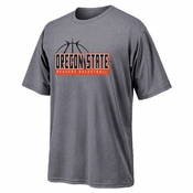 Oregon State Beavers Ouray Basketball Triblend Tee - Grey