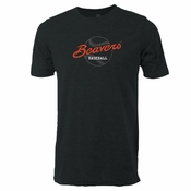 Oregon State Beavers Ouray Beavers Baseball Triblend Tee - Dark Grey