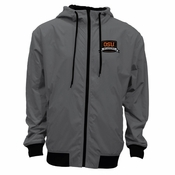 Oregon State Beavers Ouray Bruizer Water Resistant Full Zip Jacket - Grey