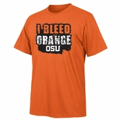 Oregon State Beavers Ouray I Bleed Orange OSU Tee - Orange