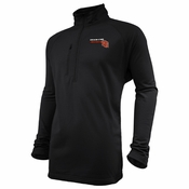 Oregon State Beavers Ouray OS Grid 1/4 Zip Pullover - Black