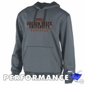 Oregon State Beavers Ouray OSU Baseball Performance Hoody - Dark Grey