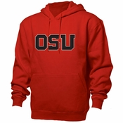 Oregon State Beavers Ouray OSU Team Wordmark Bench Hoody - Orange