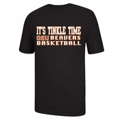 Oregon State Beavers Ouray Tinkle Time Basketball Tee - Black