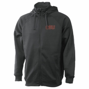 Oregon State Beavers Ouray Transit Full Zip Hood & Collar Hoody - Grey