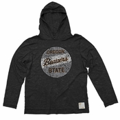 Oregon State Beavers Retro Brand Women's Vintage Benny Hoody - Black