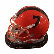 Oregon State Beavers Schutt Authentic Miniature Football Helmet - Orange