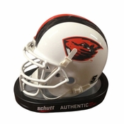 Oregon State Beavers Schutt Authentic Miniature Football Helmet - White