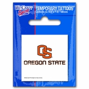 Oregon State Beavers Tattoo Pack - White